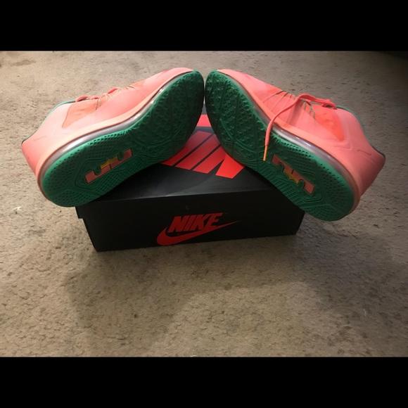 86216c5079b Nike lebron X low watermelon size 11. M 5b8590d25bbb8004a3c7eb20